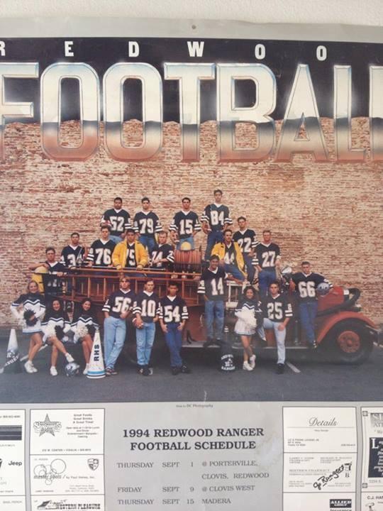 Redwood Football Team no. 54