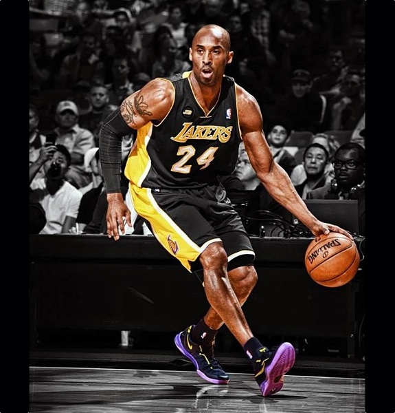 """The black mamba returns after achilles injury"""